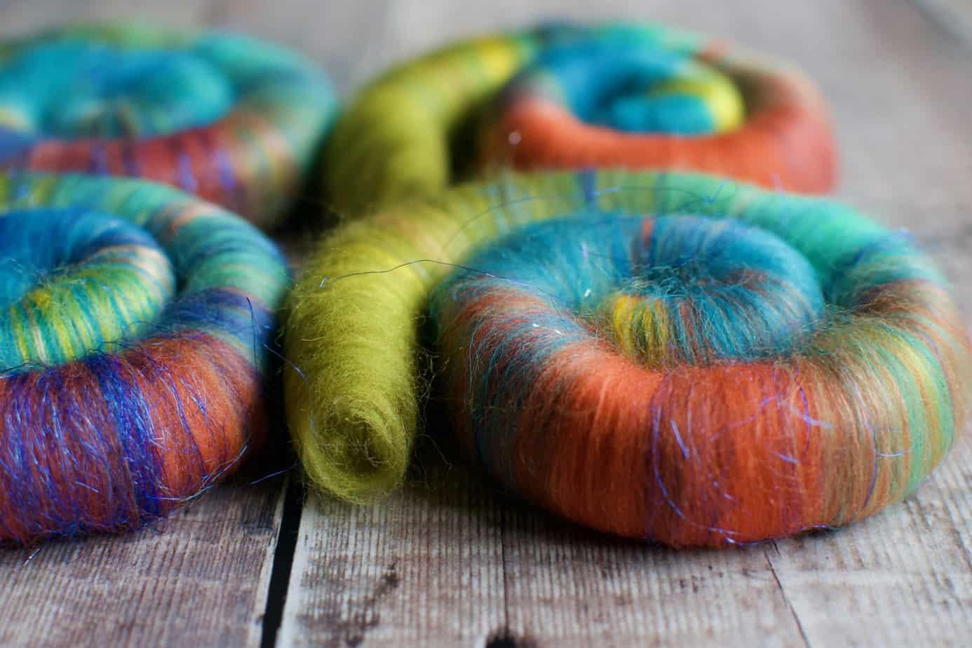 multicolour rolags uk