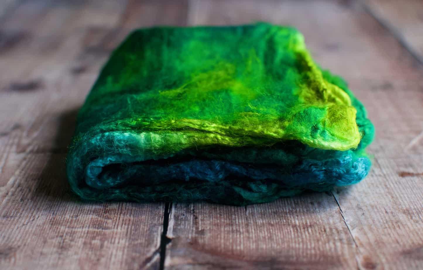 green silk hankies for sale