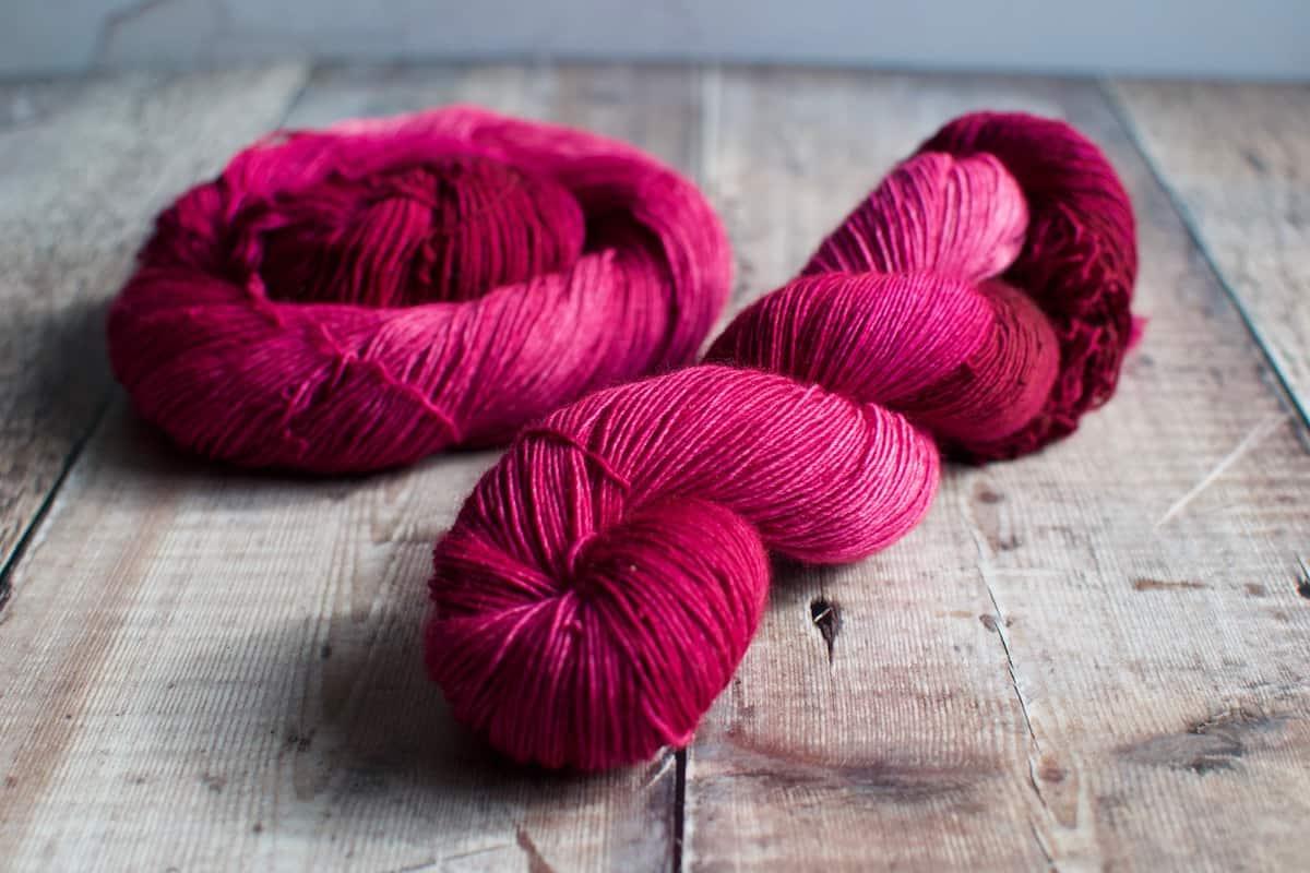 pink sock wool yarn uk
