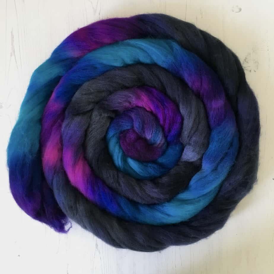 Deep Sea Dive wool top merino