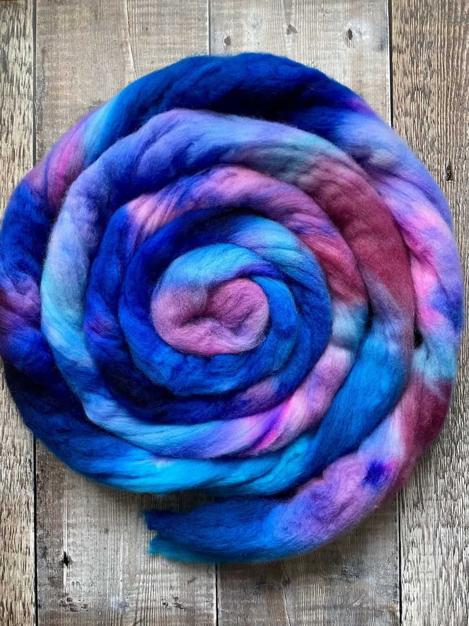 organic merino for felting or spinning – 23 micron fibre – super soft wool top roving for crafts – by Eleanor Shadow