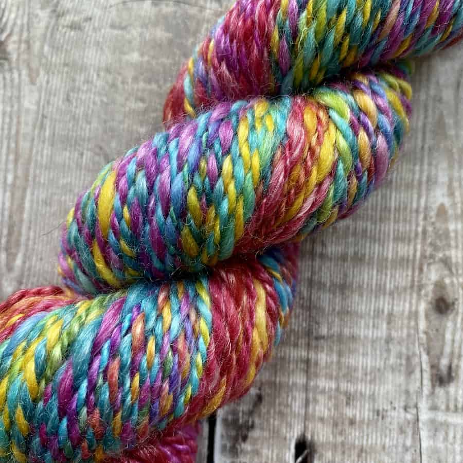 BFL SeaCell hand spun Worsted weight yarn for sale UK